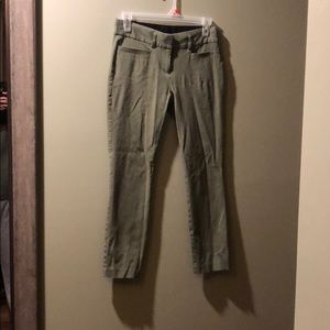 Green Candies Ankle Pants